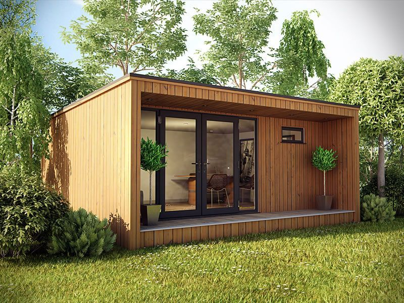 7m X 4m Cedar Garden Office, Garden Studio, Summerhouse, Fully Insulated |  EBay | Scotland Cabin/studio | Pinterest | Garden Office, Garden Studio And  ...
