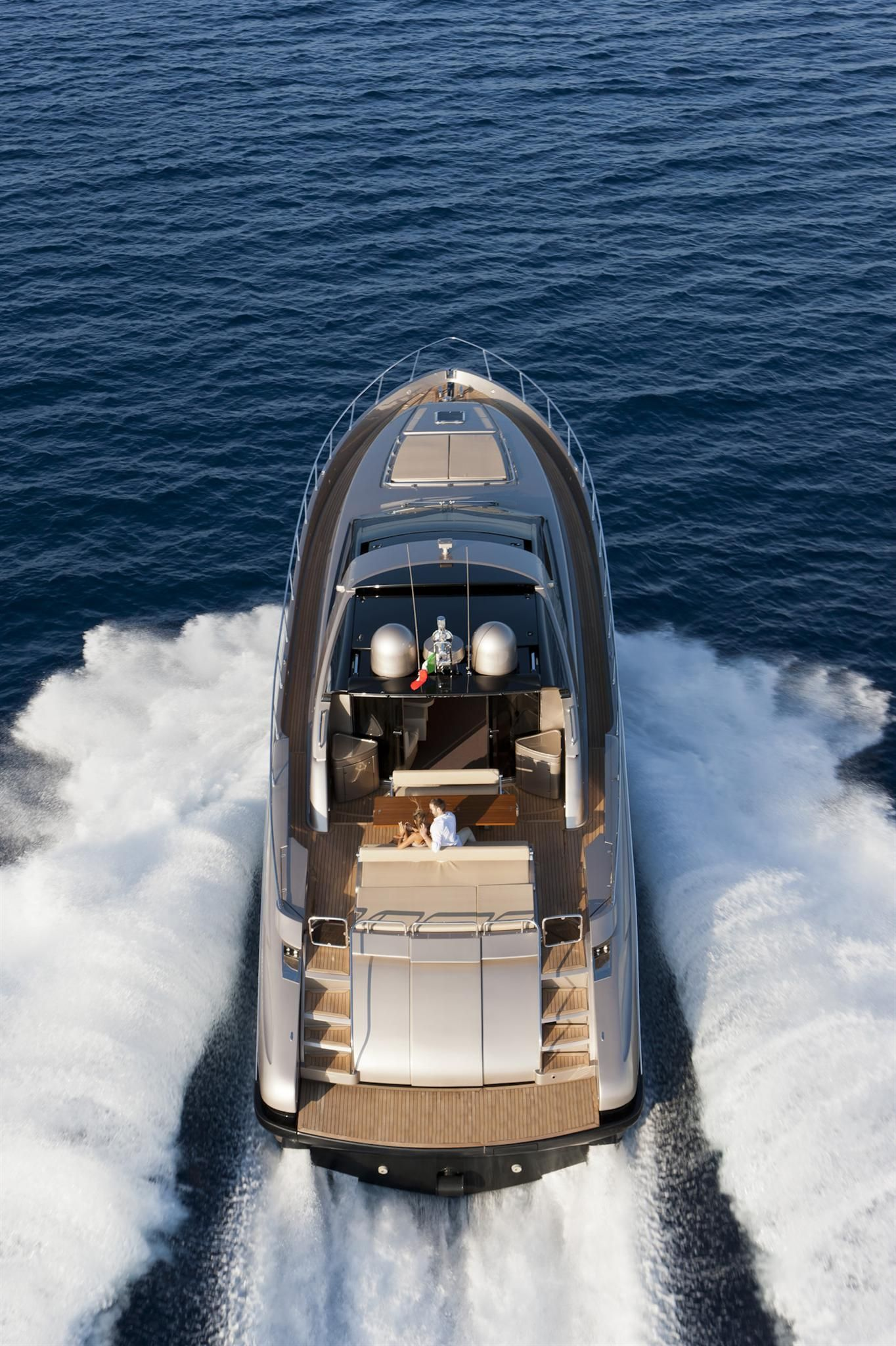 External view Riva Yacht - 68' Ego Super #yacht #luxury #ferretti #riva