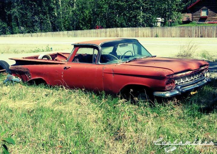59 El Camino A Little Fixer Upper Abandoned Cars Rusty Cars