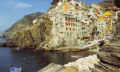 Riomaggiore, Cinque Terre, Italy. One of five breath taking fishing villages on the Mediterranean. My best friend and I stayed in this village!