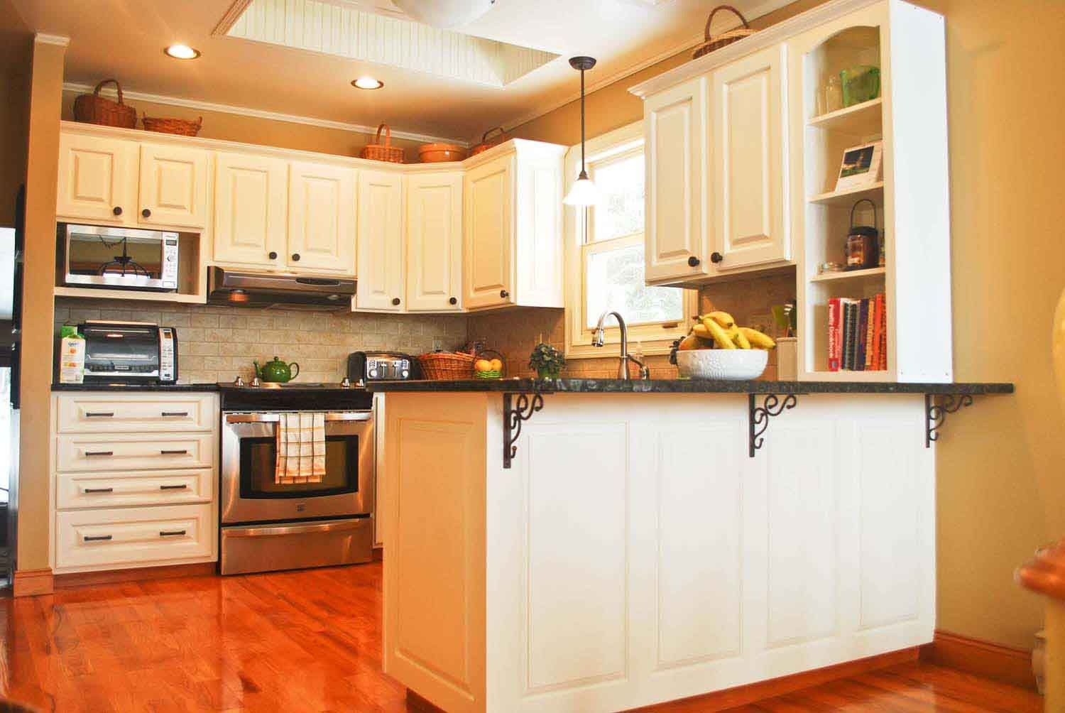 Painting Kitchen Cabinets Diy Four Easy Steps And Guides Painting Kitchen Cabinets White White Kitchen Cabinets White Kitchen Design