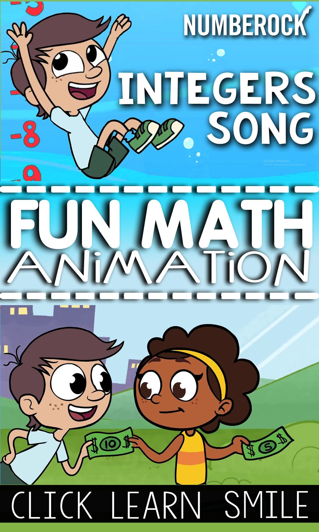 Integers Definition & Absolute Value with Worksheets & Math Music ...