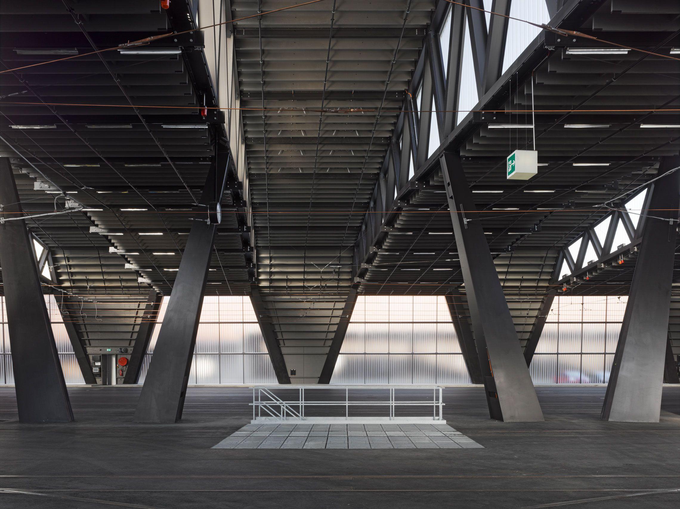 Penzel Valier New Tramdepot Bern Architecture Industrial Architecture Contemporary Architecture