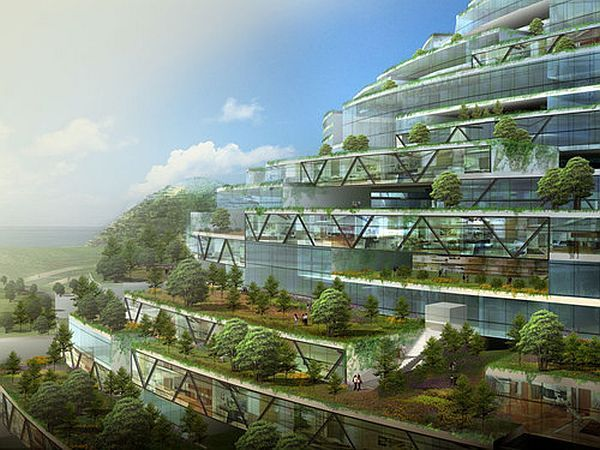 Hightech Architecture Style Sustainable Architecture
