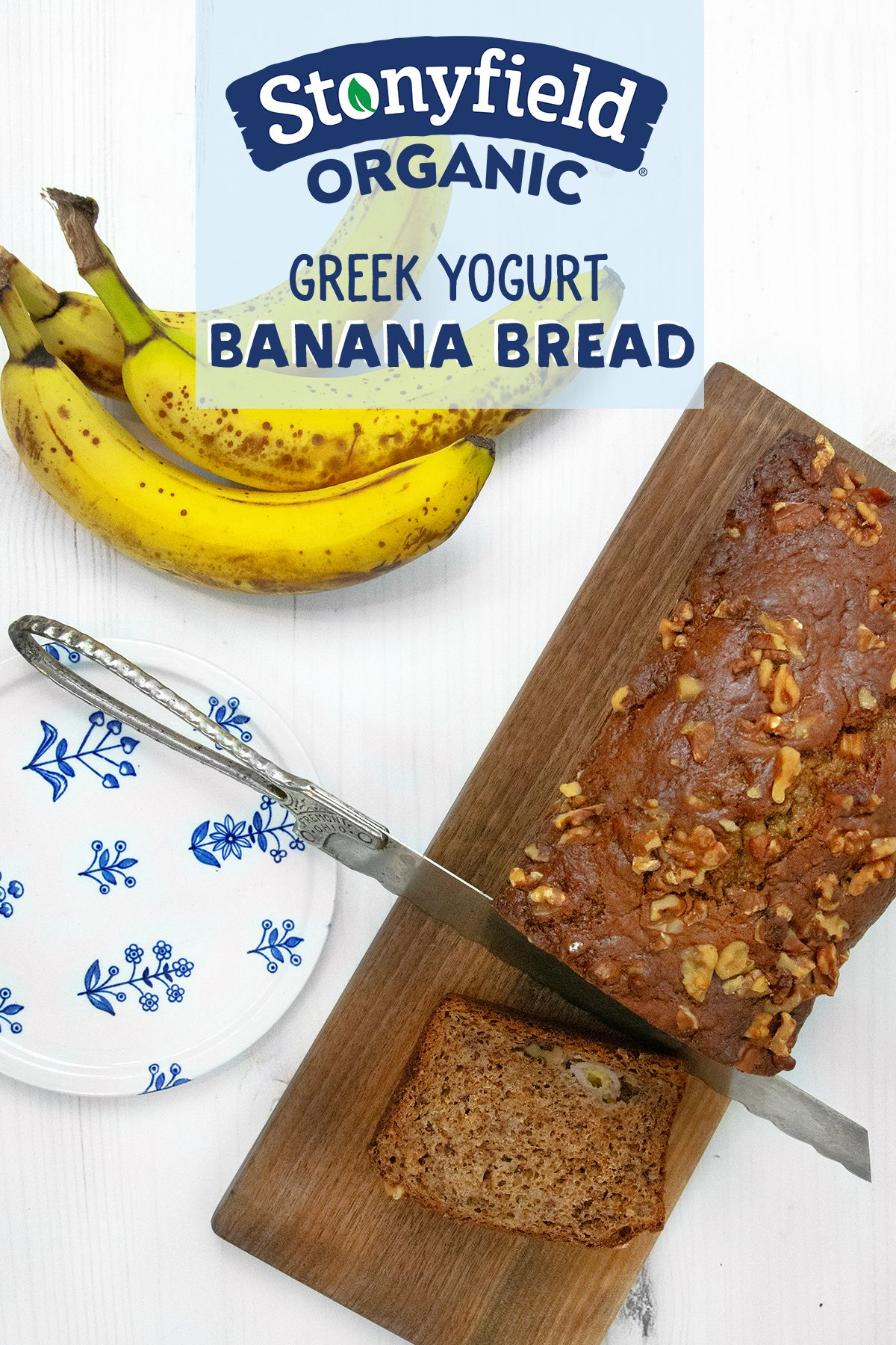 Greek Yogurt Banana Bread Recipe Stonyfield Yogurt Banana Bread Greek Yogurt Banana Bread Greek Yogurt Recipes
