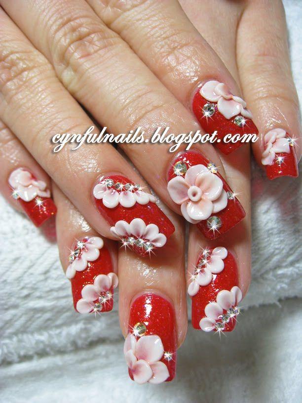3d Art Acrylic Nails