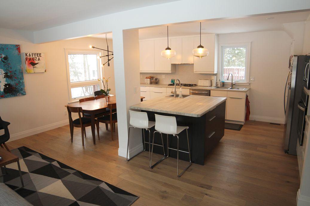 An Open, European Style IKEA Kitchen By Inspired Kitchen Design
