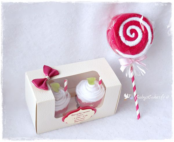 cadeau de naissance bio bodies cupcakes fille cadeau. Black Bedroom Furniture Sets. Home Design Ideas