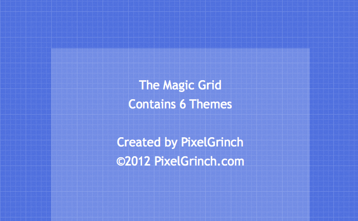 The Magic Grid Theme for WriteRoom 3 for Mac | Themes | Mac