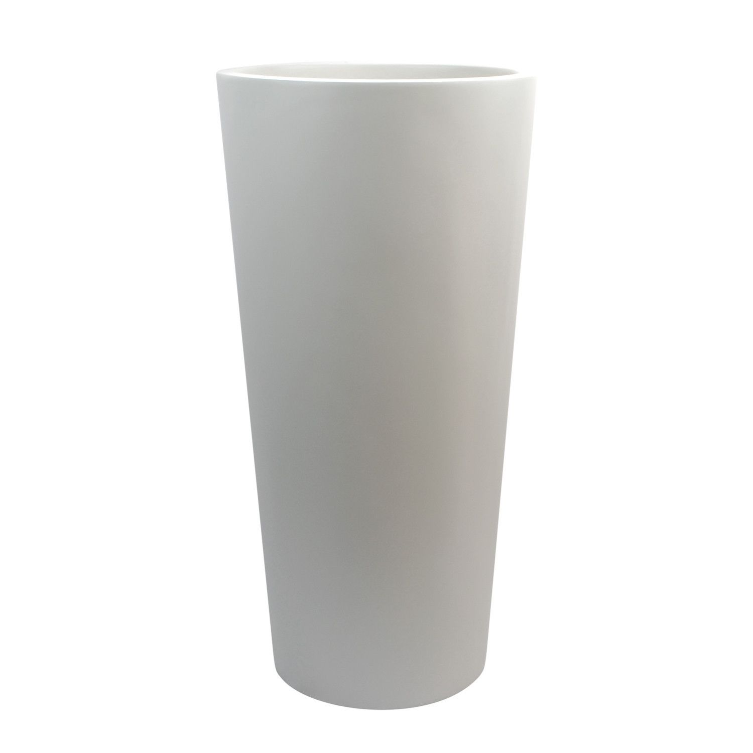 Sonoma Tall Cylinder Planter   White
