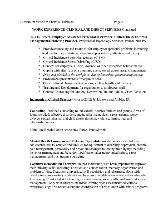 lpc therapist resume examples