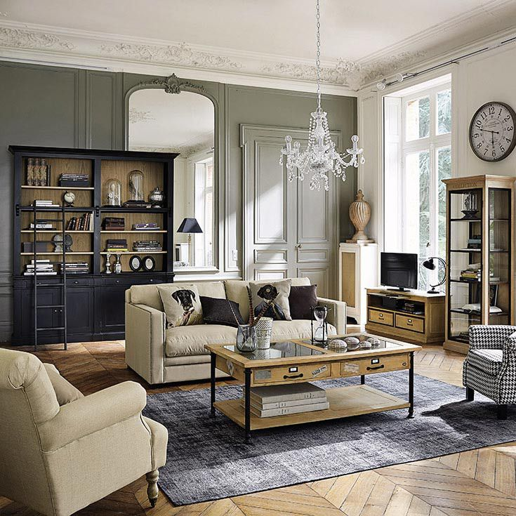 meubles d co d int rieur classique chic maisons du. Black Bedroom Furniture Sets. Home Design Ideas