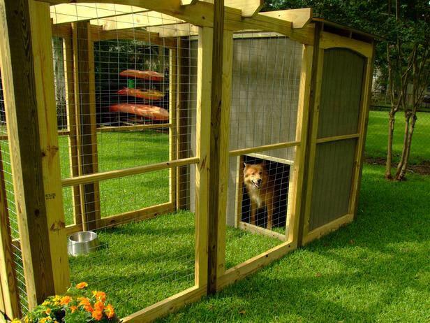 Dog run | Dog houses, Outside dogs, Dog house diy