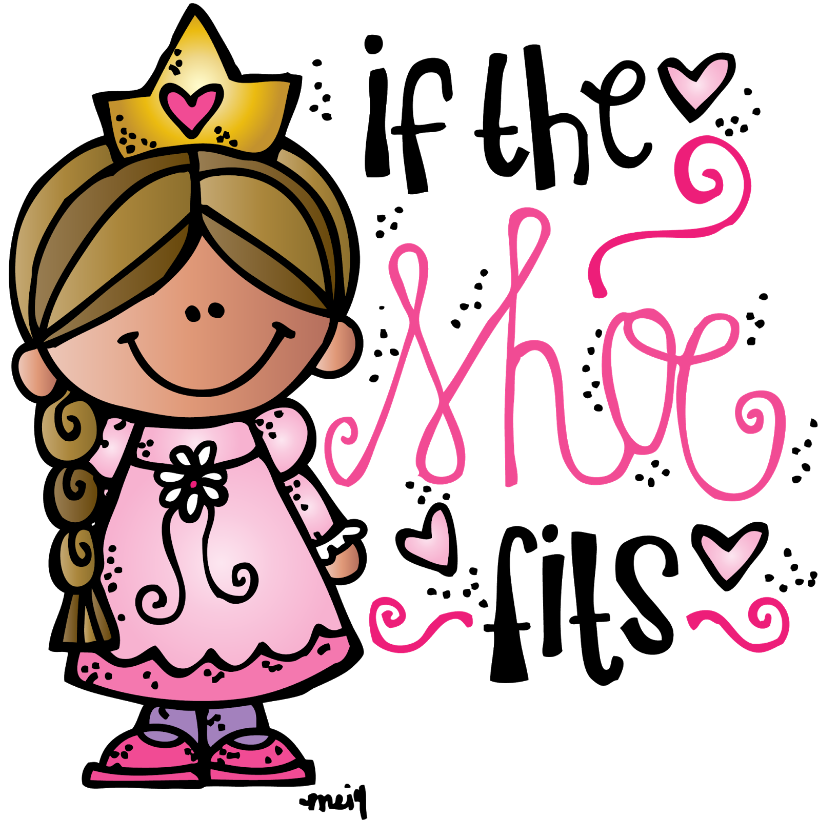 Melonheadz Illustrating If the shoe fits freebie :) | niñas ...