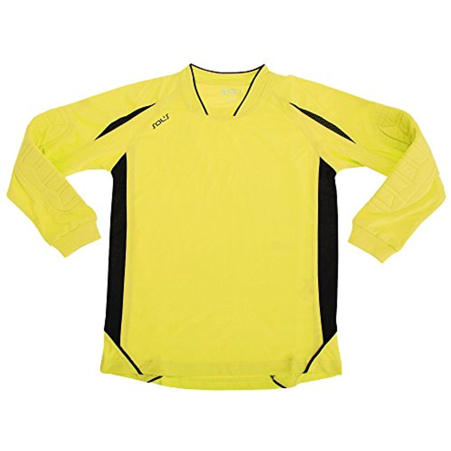 Sols Childrens Kids Big Boys Azteca Long Sleeve Football Goalkeeper Shirt Check This Awesome Product By Going Goalkeeper Shirts Shirts Open Shoulder Tops