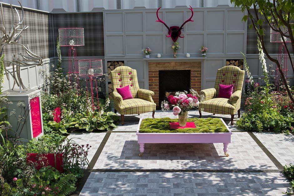 The Fabric fresh garden at the RHS Chelsea Flower Show 2014 / RHS Gardening