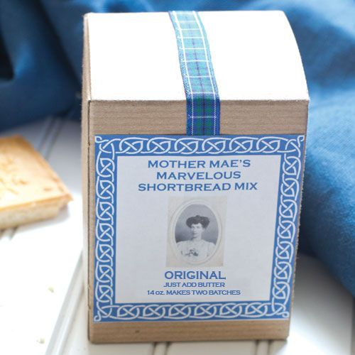 Mother Mae's Marvelouse Shortbread Mix - Original  $6.00 http://www.fancyflours.com/product/Mother-Maes-Marvelous-Shortbread-Mix-Original/Baking-Ingredients-and-Baking-Mixes