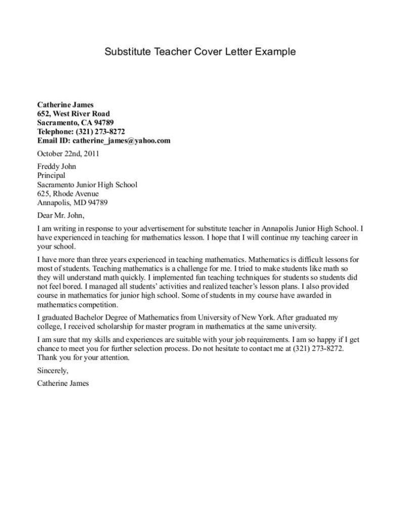 Doc Cover Letter Unknown Person Com Proper Sample Job Resume
