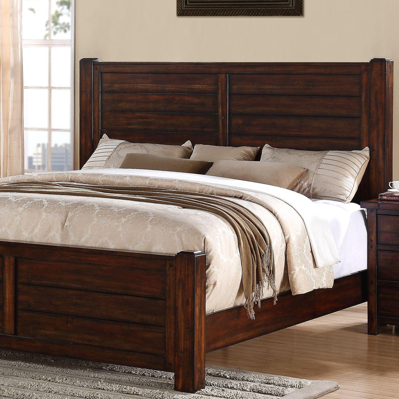 Greystone Dawson Creek Panel Bed Bedroom furniture for