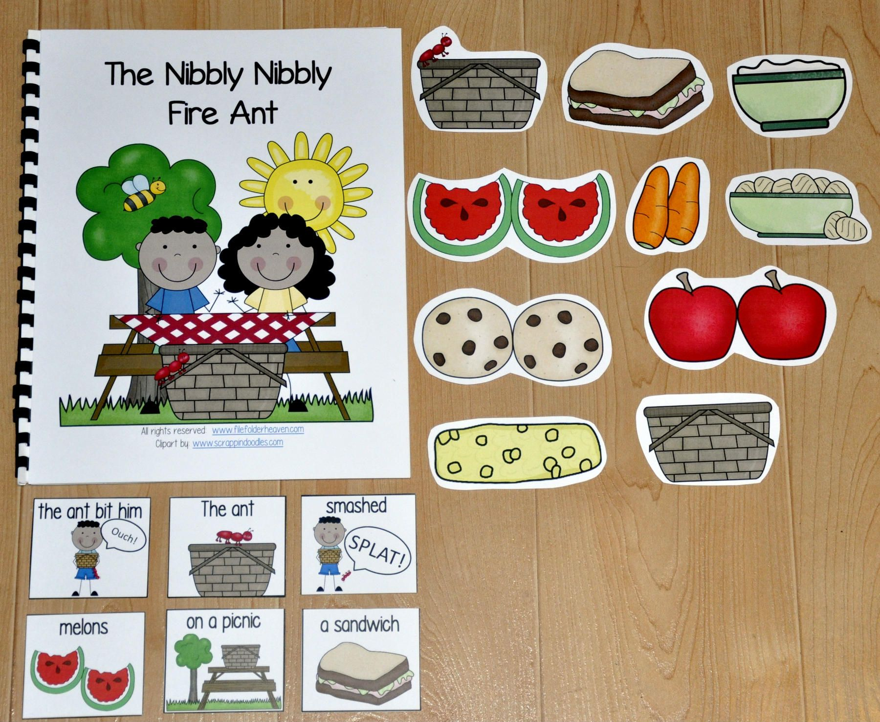 This Picnic Adapted Book The Nibbly Nibbly Fire Ant Is