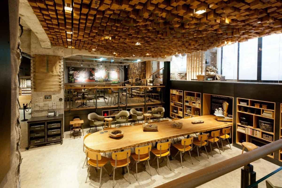 Perfect Interior Design Photos For Bakery Shops Coffee Shop