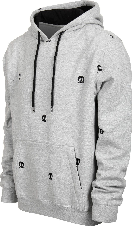 Gnarly Step & Repeat Hoodie - grey - Men's Clothing > Hoodies & Sweaters > Hoodies > Pullover Hoodies
