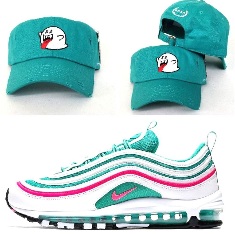 Ghost Money Teal DAD Hat Snapback Strapback For Nike Air Max 97 South Beach b83c4786e31
