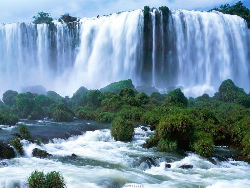 Waterfalls Wallpapers 1080p: Waterfall Wallpaper Hd 1080P Free Desktop Backgrounds And