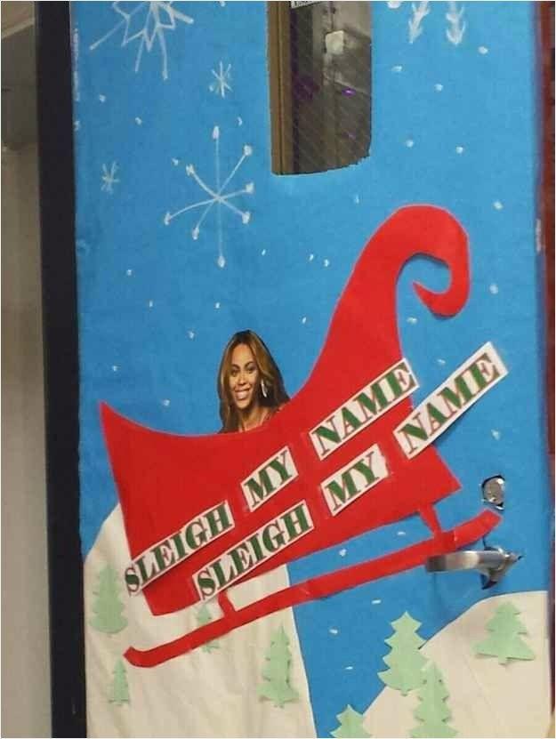 40 Best Funny Christmas Door Decorating Ideas Christmas