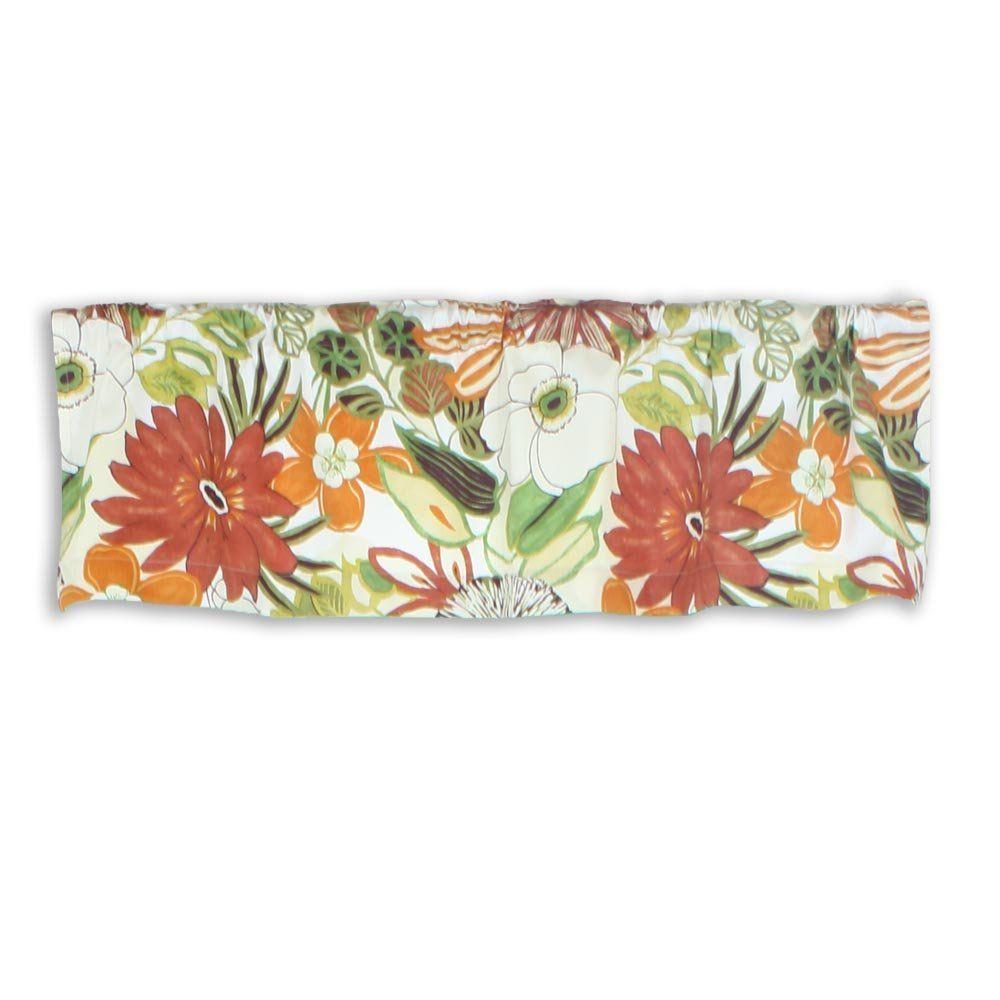 Amazon.com: Chooty Lilith Marigold 54 by 15 Rod Pocket Curtain ...