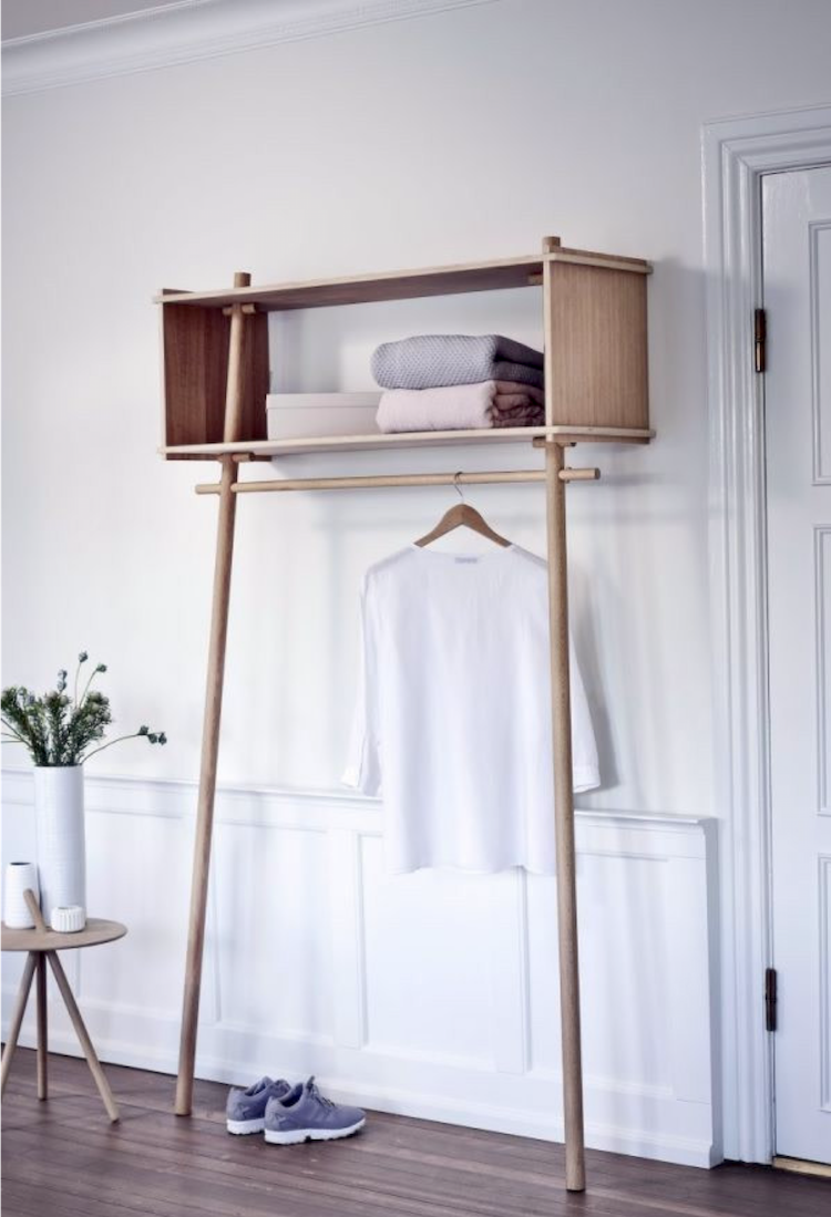 Ikea Wardrobe Valet Making An Entrance: 10 Beautiful Scandinavian Inspired