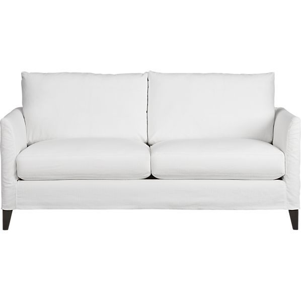 Klyne Slipcovered Apartment Sofa I Crate And Barrel Trends To