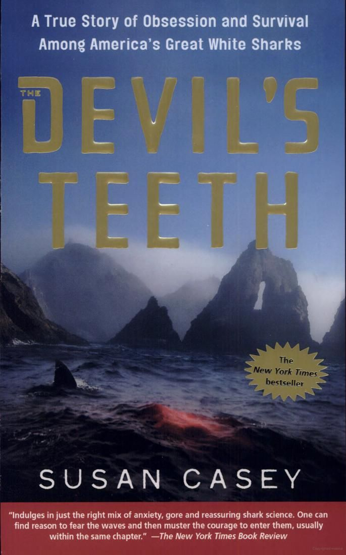 The Devils Teeth A True Story Of Obsession And Survival Among