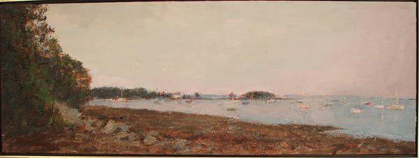 """Camden Harbor"" from DIANA LEVINE, Fine Art"
