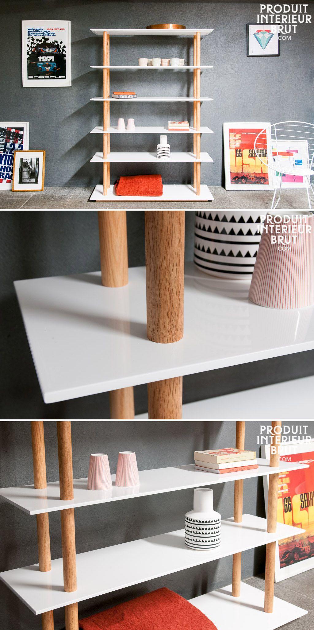 Bucherregal Tenno Finesse Der Regalboden Struktur Regal Bucherregal Skandinavisches Design