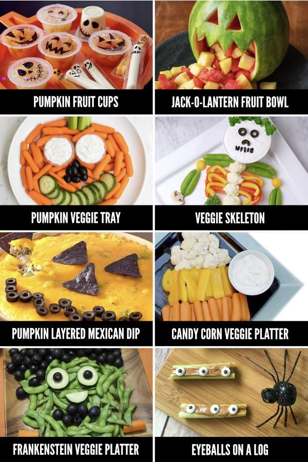 Fun Halloween Food Ideas Halloween abendessen, Halloween