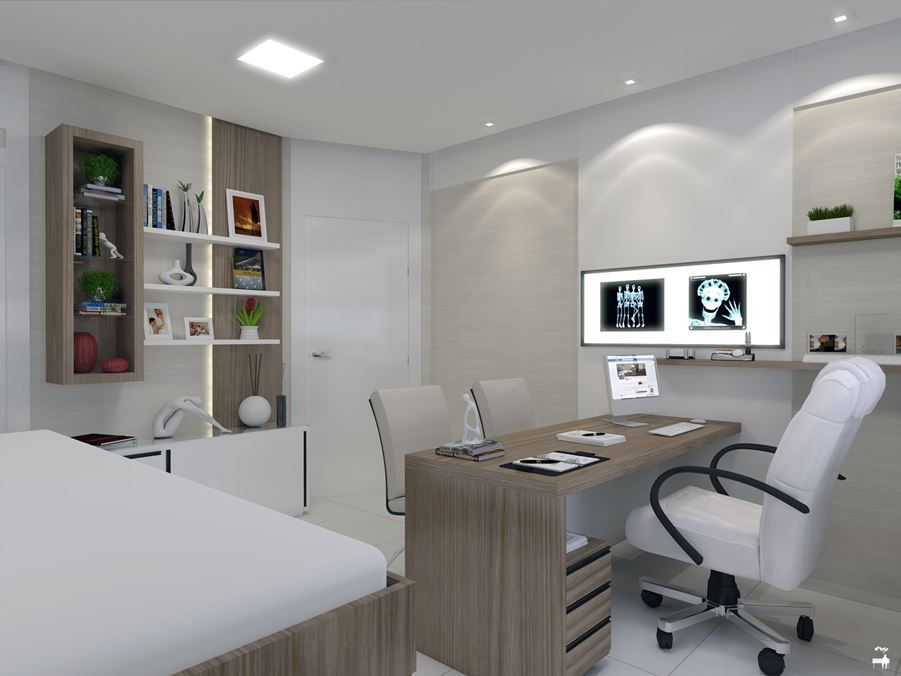 Consultório Médico Doctor's Office Picture Gallery Clinic Delectable Doctor Office Design
