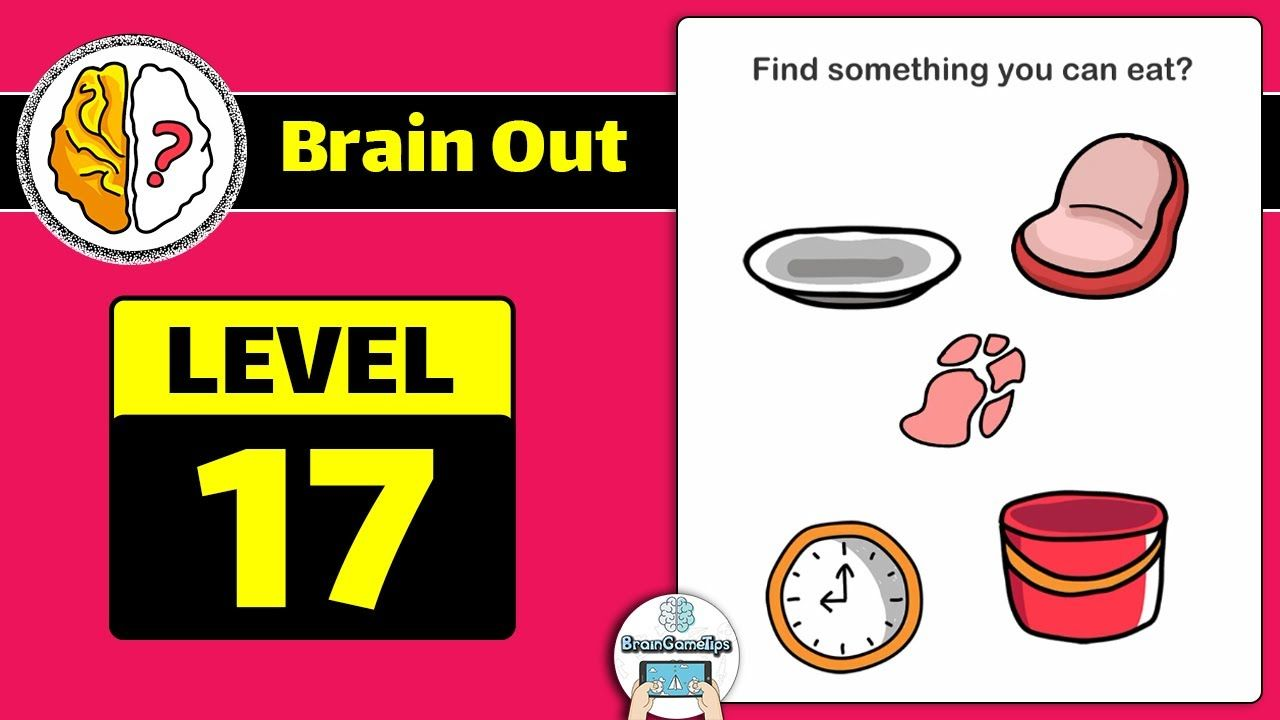 Brain Out Level 17 Updated Answer And Walkthrough Youtube Playlist Brain Answers