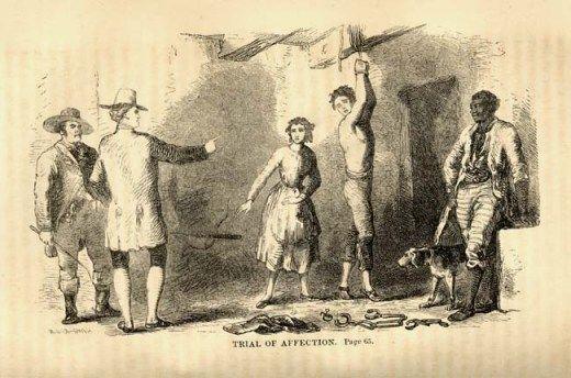 Indentured servant facing punishment