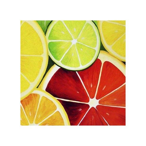 Sliced Grapefruit Poster Print Food Art Fruit by Room Kitchen ...