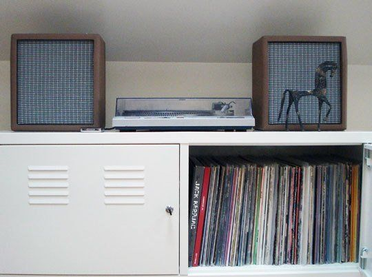 Organizing Ideas for a Music Station | Ikea ps cabinet, Ikea ps ...