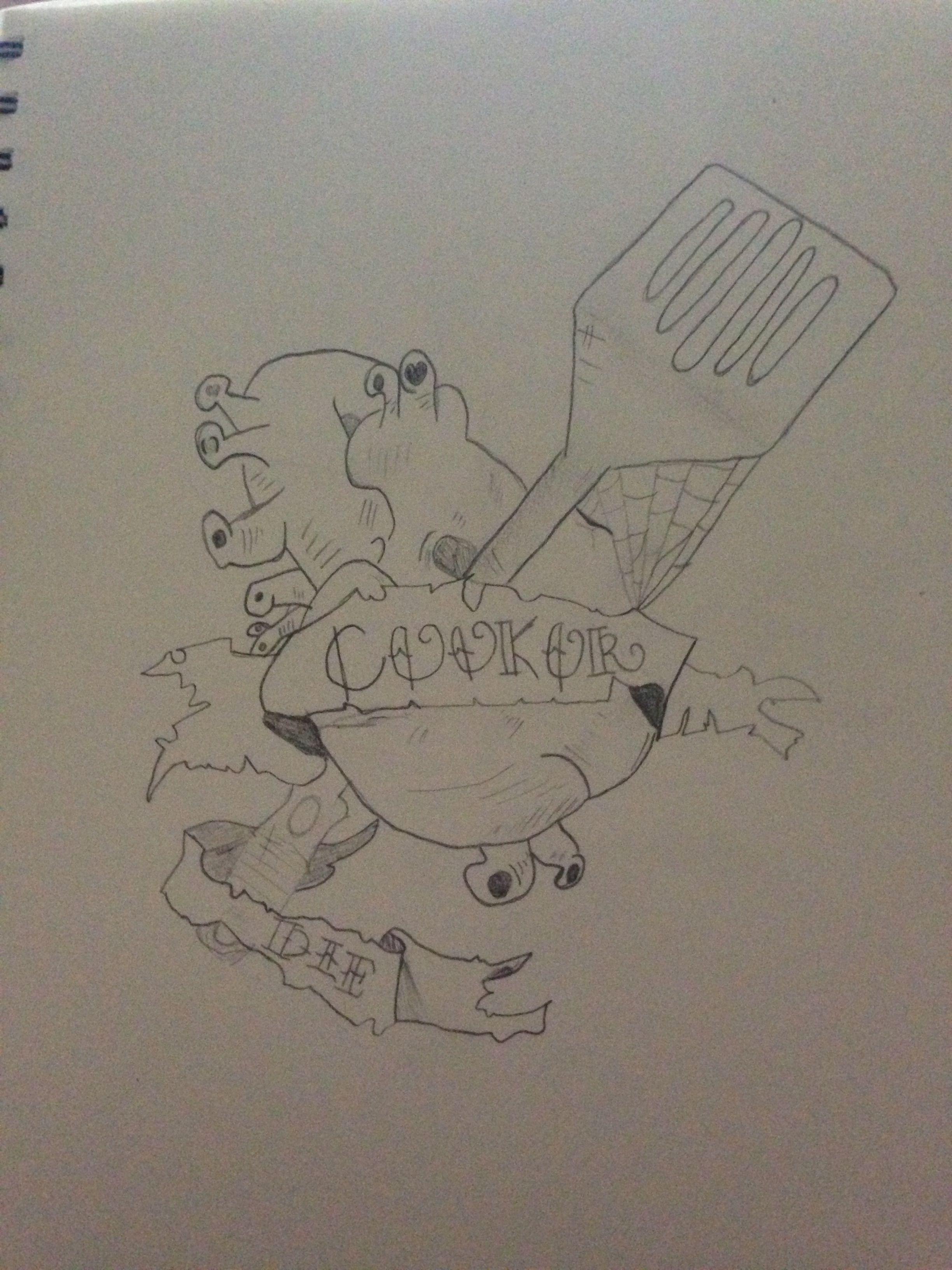 Tattoo idea, drawn by myself