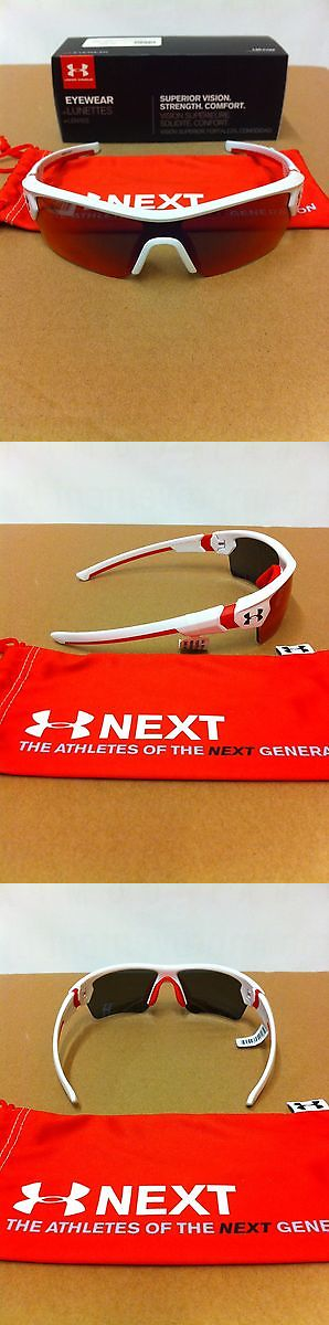 7511c2367c Sunglasses 131411  Under Armour Menace Youth Shiny White Infrared Multi  Sunglasses Make Offers -