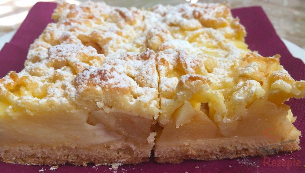 Ein wunderbarer Apfelkuchen #czechrecipes