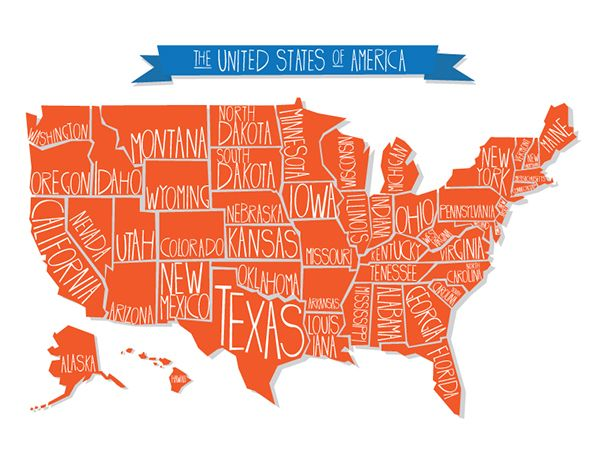 Graphic Design On RISD Portfolios Graphics Pinterest - Us map graphic