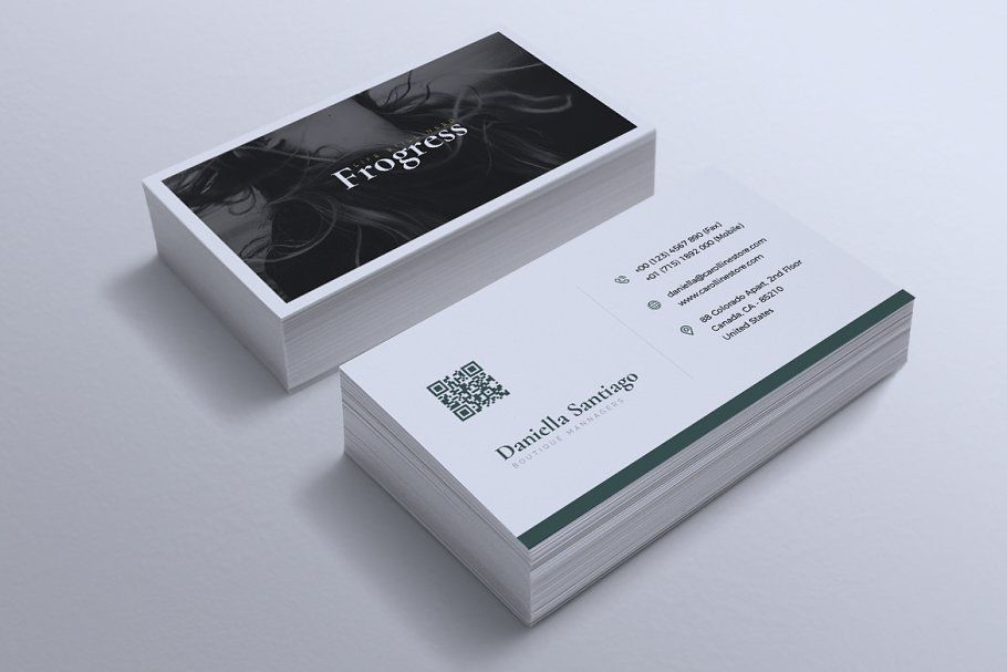 Business Card Template Vol 04 Created With Highly Detailed Simplistic Modern And Profe Stylish Business Cards Modern Business Cards Business Card Template