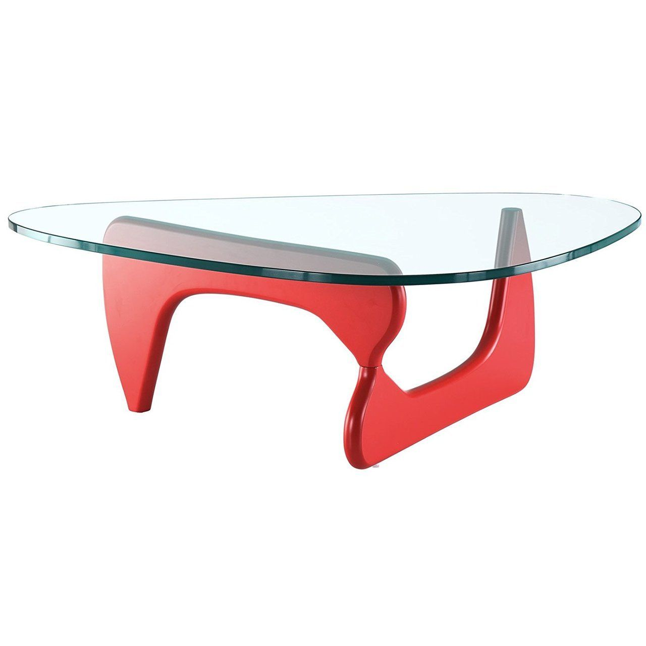 Replica Noguchi Coffee Table Red Timber 20mm Tempered Glass Noguchi Coffee Table Modern Coffee Tables Coffee Table [ 1280 x 1280 Pixel ]