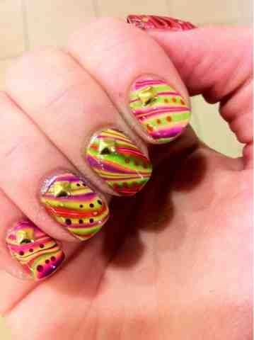 Color Changing Water Marble - Ruby Wing | Nice Nails