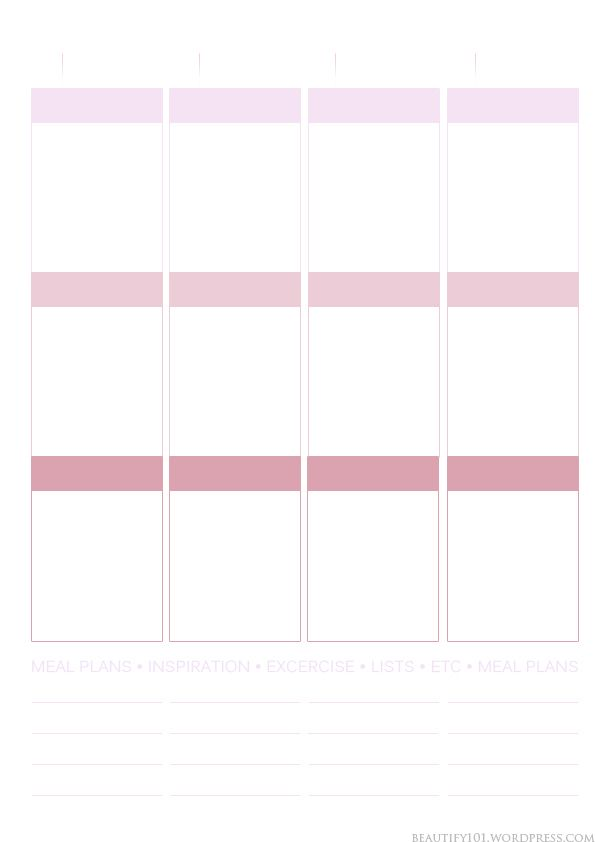 picture relating to Printable Layout titled Planner101: Totally free printable webpage structure (Erin Condren