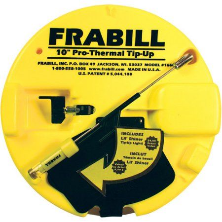Frabill Pro Thermal Tip-Up with Lite Chart, 1671, Multicolor